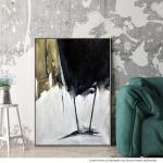 Black and Gold - Painting