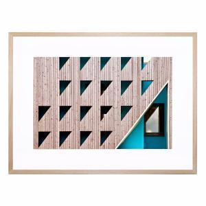 Triangles - Framed Print