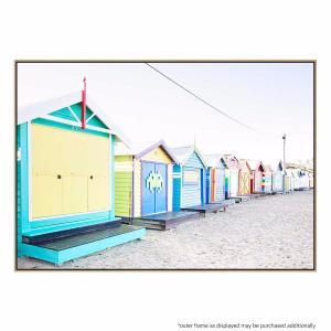 Beach Hut - Canvas Print