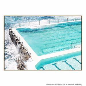 Beachside Pool - Canvas Print