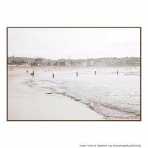 High Tide Beach - Canvas Print