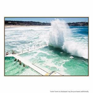Beach Water Wall - Canvas Print