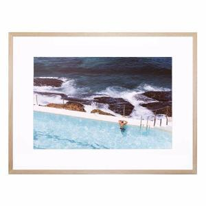 Beach View - Framed Print