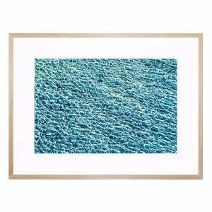 Deep Blue Beach - Framed Print