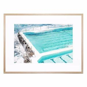 Beachside Pool - Framed Print
