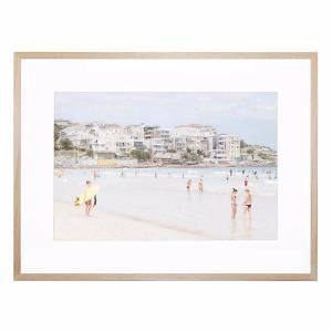 Hot Beach Day - Framed Print