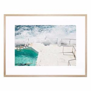 Beach Waves - Framed Print