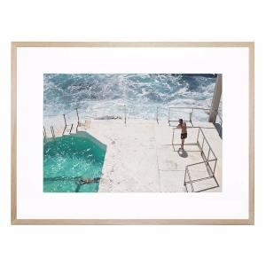 Beach Waters - Framed Print