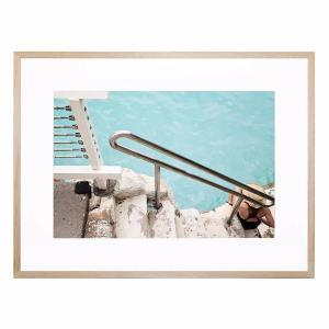Crystal Clear Beach - Framed Print
