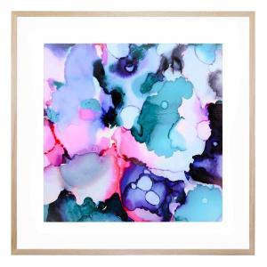 Ink and Ice - Framed Print