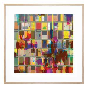 Bright Boxes - Framed Print