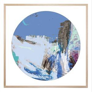 Blue Wolf Hills - Framed Print