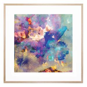 Blue Space - Framed Print
