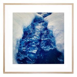 Blü Framed Print