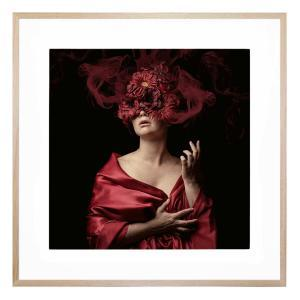 Moda Florale - Framed Print