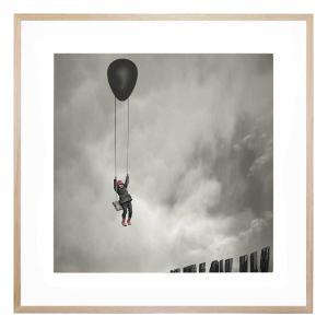 Up And Away - Framed Print