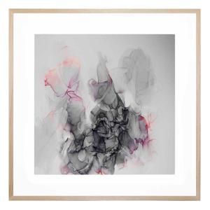Dance of the Grey - Framed Print