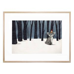 A Winter's Day - Framed Print
