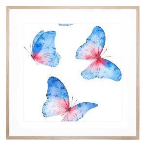 Blue Whisper - Framed Print
