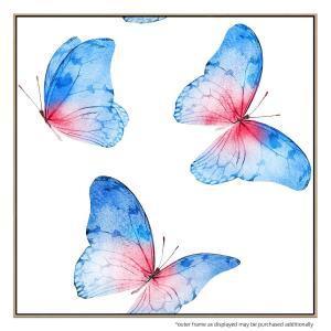 Blue Whisper - Canvas Print