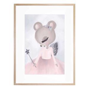 Ballerina Belle - Framed Print