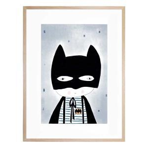 Be Batman - Framed Print