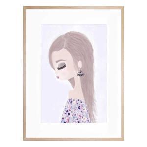 Belle - Framed Print