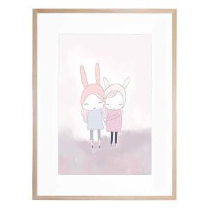 Best of Friends - Framed Print