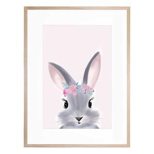 Billie The Bunny - Framed Print