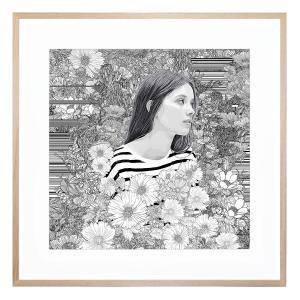 Lovely Whisper - Framed Print