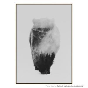 Approaching Bear - Canvas Print