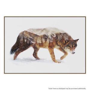 Arctic Wolf - Canvas Print