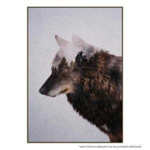 Big Wolf - Canvas Print