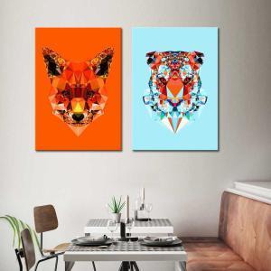 Fox / Tiger - Canvas Print