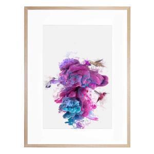 Hummingbird Sink - Framed Print