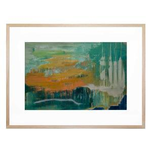Beyond the Shore - Framed Print