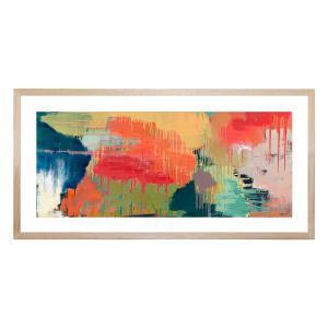Sunshine Through The Clouds - Framed Print