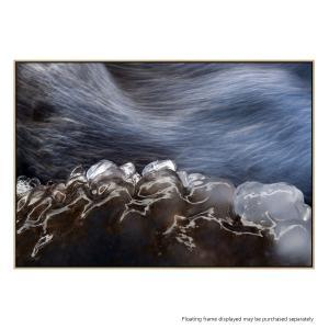 Icy Water - Canvas Print