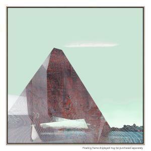 Peel Pyramid 5 - Canvas Print
