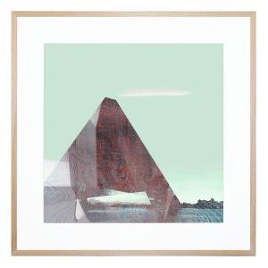Peel Pyramid 5 - Framed Print