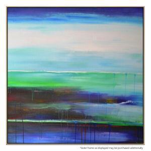 Blue Pole - Painting