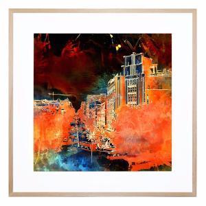 City Lights - Framed Print