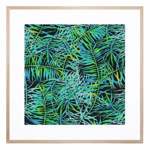 Midnight Tropic - Framed Print