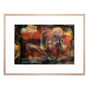 Disquietude - Days Of Nothing - Framed Print