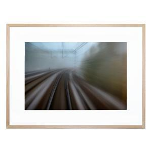 From The Last Wagon On The Train - Framed Print