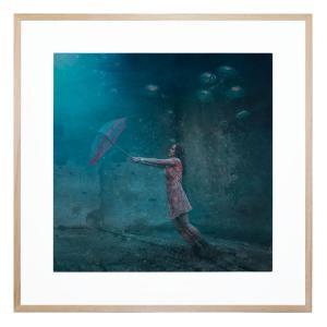 Take A Breath And Rise - Framed Print