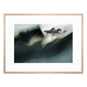 Shadows Of Power - Framed Print