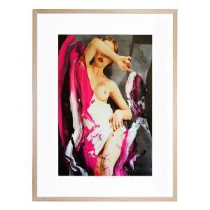 Sensory Blush - Framed Print