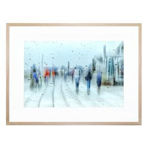 Its Raining - Framed Print