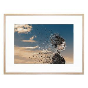 In The Wind - Framed Print